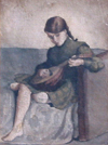 Girl with the Lute